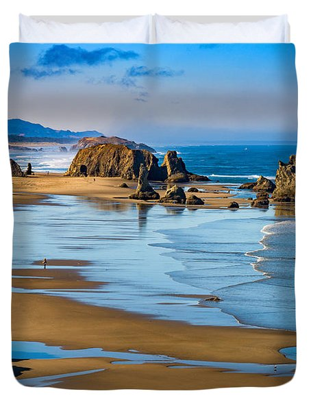Bandon Beach Duvet Cover