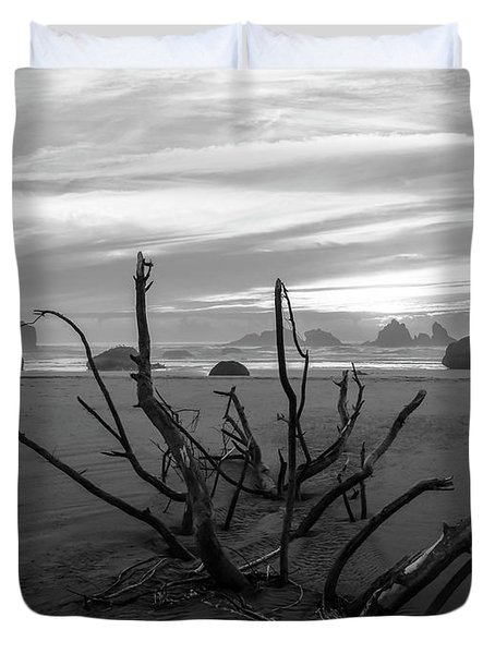 Bandon Beach Tree Duvet Cover