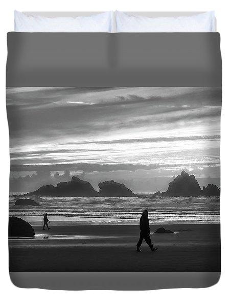 Bandon Beachcombers Duvet Cover