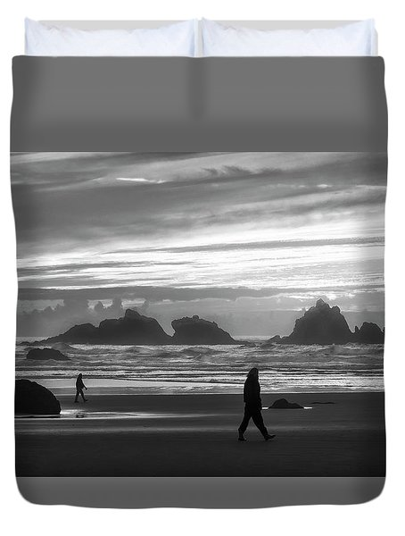 Bandon Beachcombers Duvet Cover
