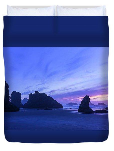 Bandon Blue Hour Duvet Cover
