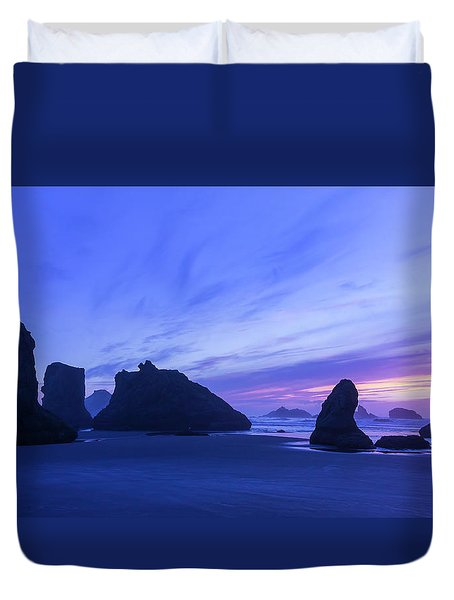 Bandon Blue Hour Duvet Cover