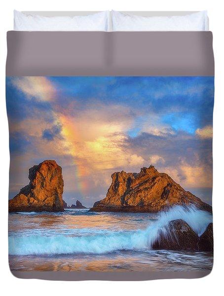 Bandon Rainbow Duvet Cover by Darren White
