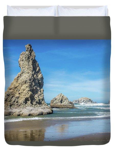 Bandon Rocks Duvet Cover