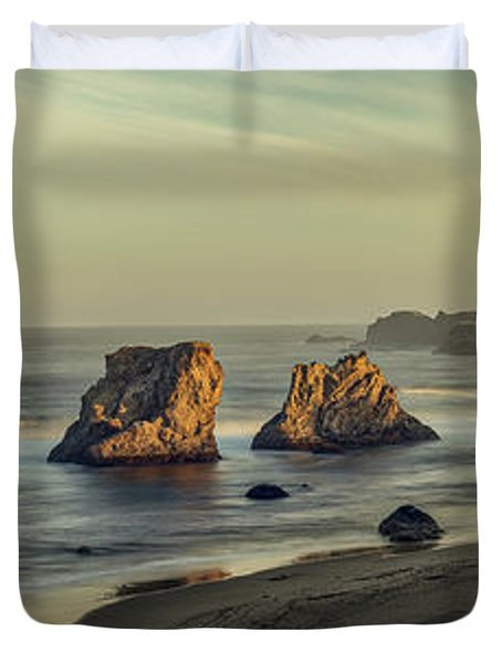 Bandon Sunrise Pano Duvet Cover
