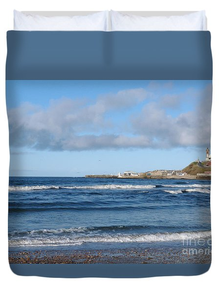 Banff Bay  Duvet Cover