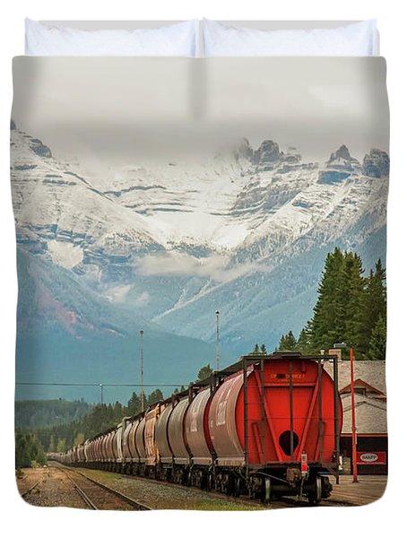 Banff Depot 2009 02 Duvet Cover