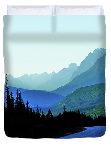 Banff Jasper Blue Duvet Cover