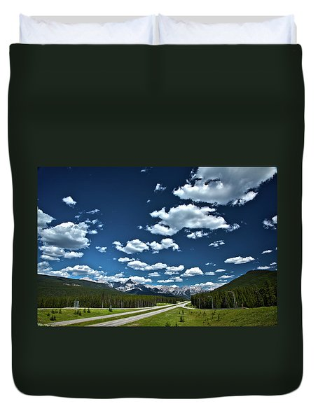 Banff Junction Duvet Cover