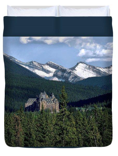 Banff Springs Duvet Cover