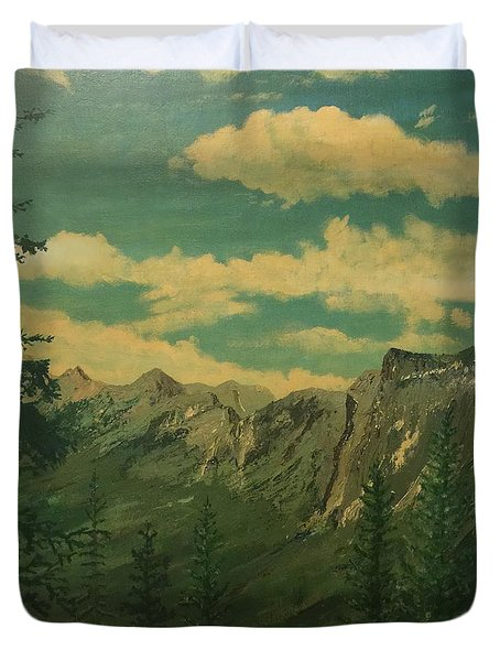 Banff Duvet Cover by Terry Frederick