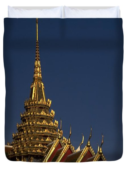 Bangkok Grand Palace Duvet Cover
