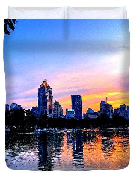 Bangkok Duvet Cover