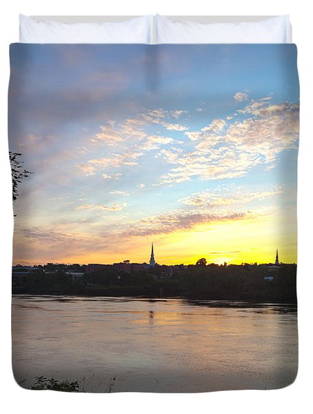 Bangor Sunset Duvet Cover