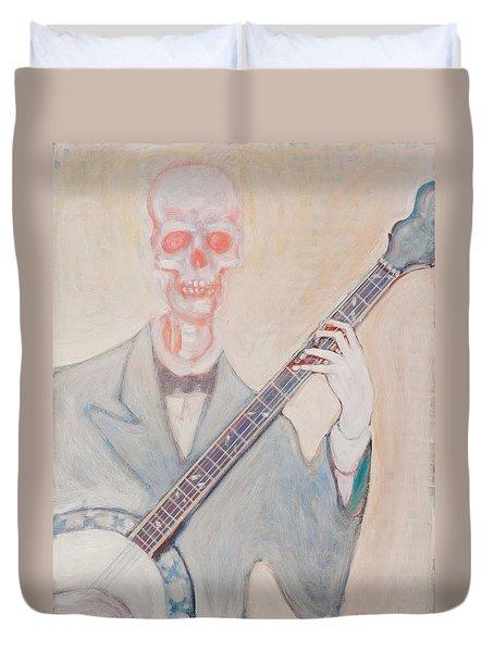 Banjo Bones Duvet Cover