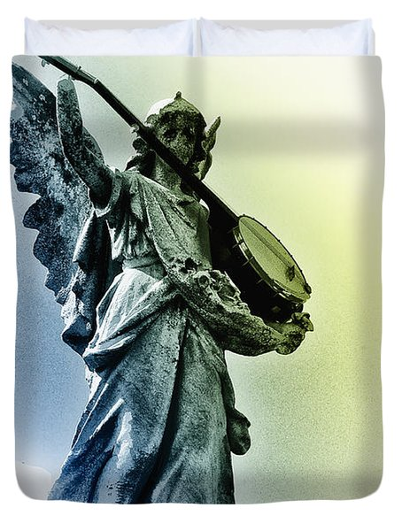 Banjo Heaven Duvet Cover by Bill Cannon