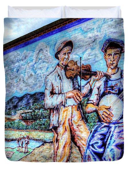 Banjo Mural Duvet Cover