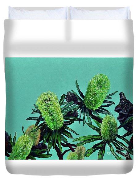 Banksias Duvet Cover