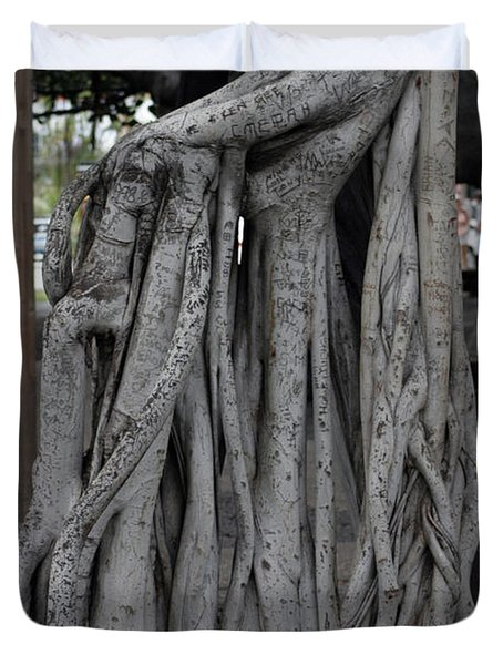 Banyan Tree, Maui Duvet Cover