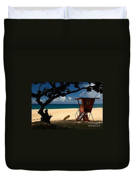 Banzai Beach Duvet Cover