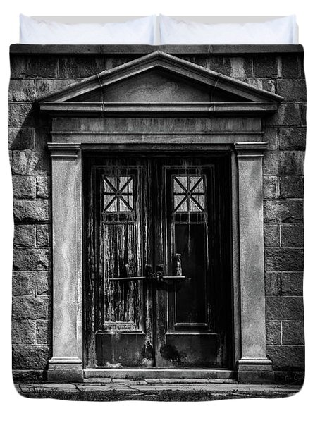 Bar Across The Door Duvet Cover by Bob Orsillo