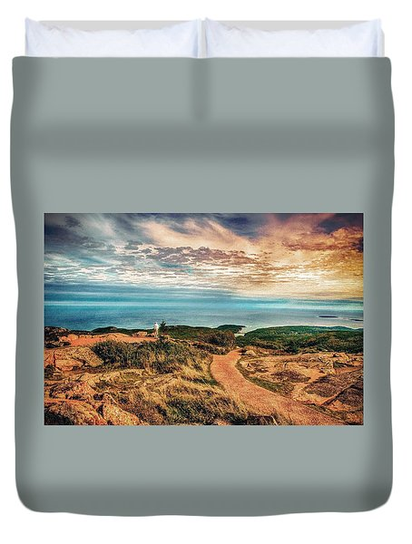 Bar Harbor Duvet Cover