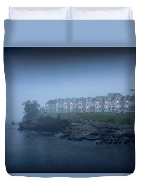 Bar Harbor Inn - Stormy Night Duvet Cover