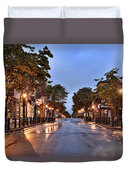 Bar Harbor - Maine Duvet Cover