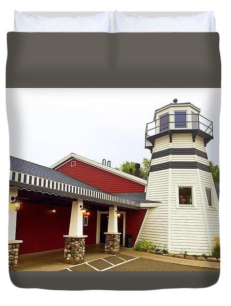 Bar Harbor Study 3 Duvet Cover
