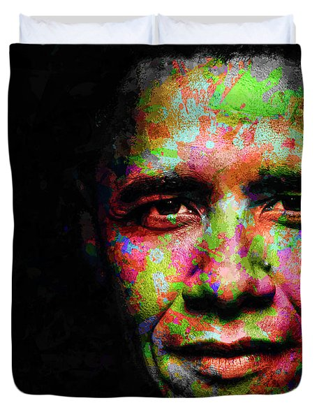 Barack Obama Duvet Cover