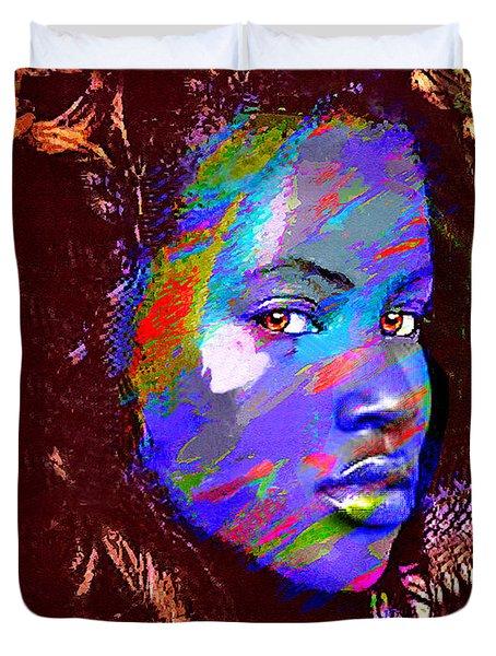 Barbados Woman Duvet Cover by Philip Gresham