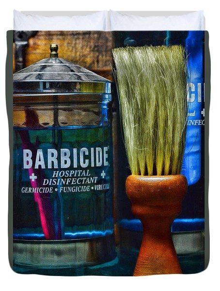 Barber Neck Duster Duvet Cover by Paul Ward