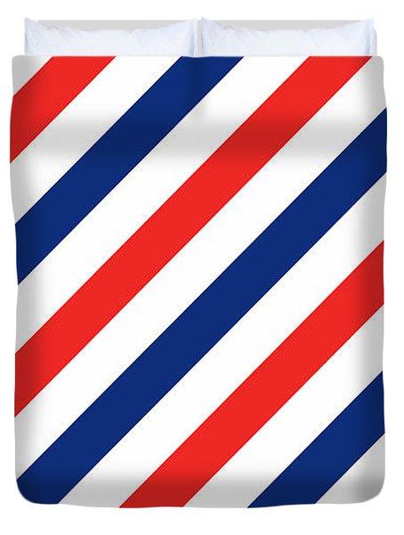 Barber Stripes Duvet Cover