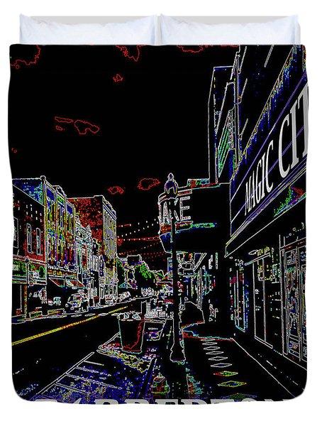 Barberton The Magic City Duvet Cover