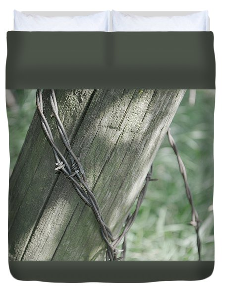 Barbwire Shadow Duvet Cover