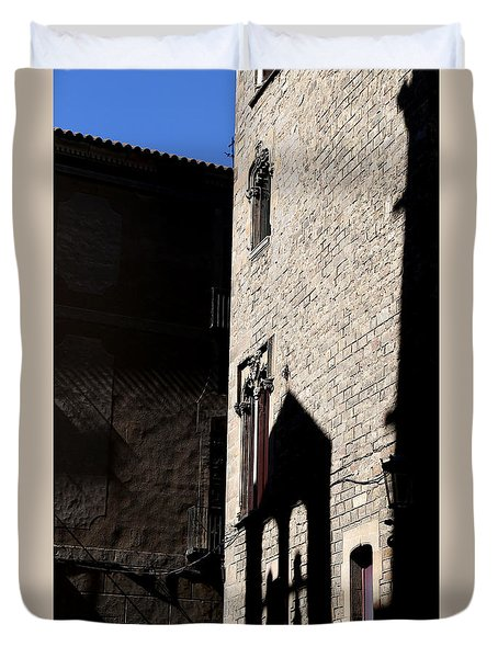 Duvet Cover featuring the photograph Barcelona 2 by Andrew Fare