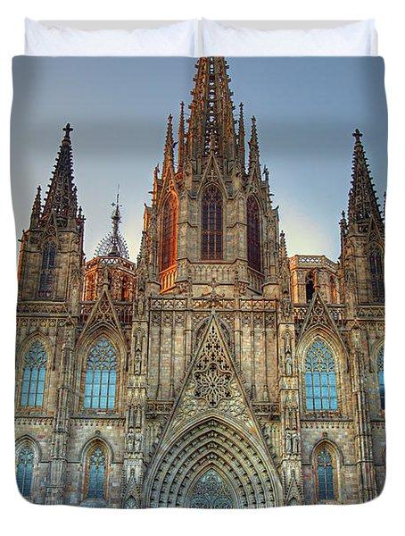 Barcelona Cathedral Duvet Cover