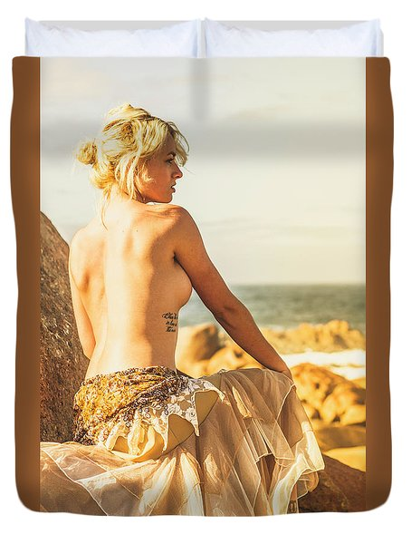 Bare Elegance Duvet Cover