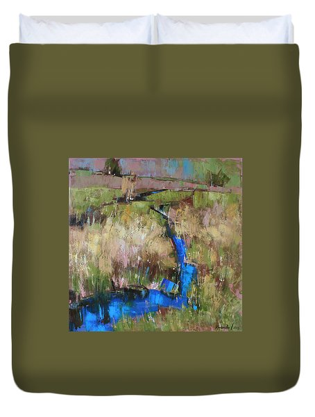 Barefoot In The Dew  Duvet Cover