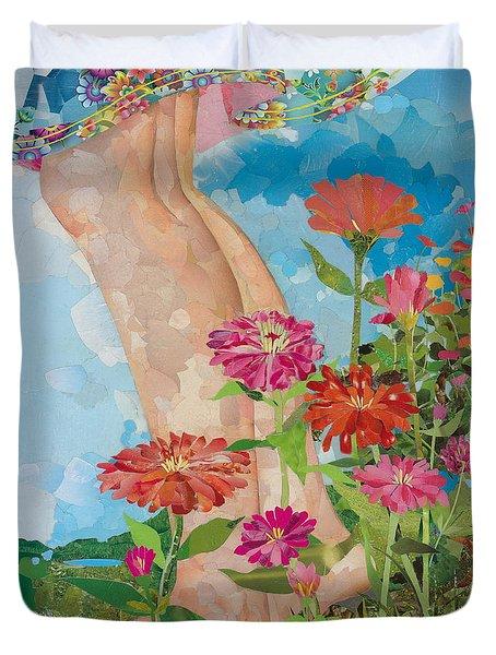 Barefoot Duvet Cover