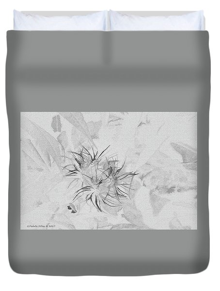 Barely There Duvet Cover
