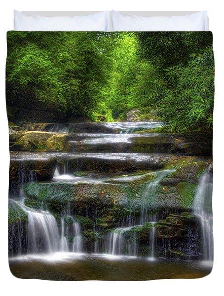 Bark Creek #1 Duvet Cover