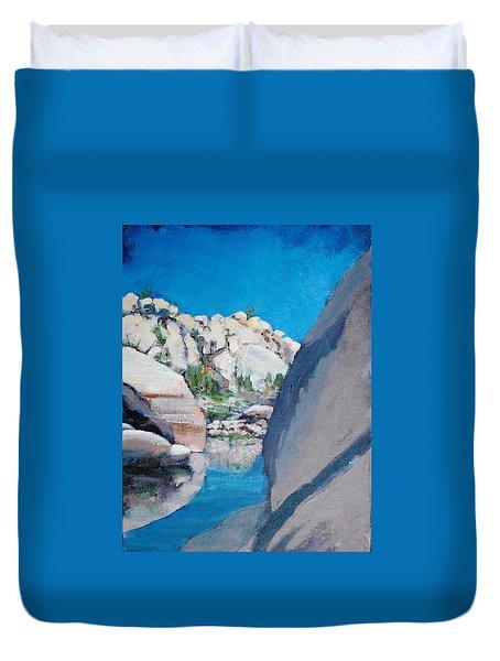 Barker Dam Duvet Cover
