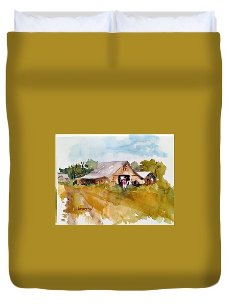 Barn # 2 Duvet Cover