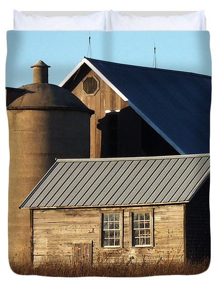 Barn At 57 And Q Duvet Cover