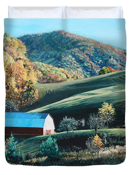 Barn At Blowing Rock Duvet Cover