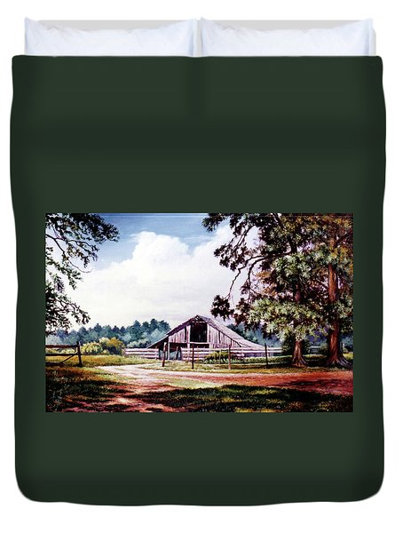 Barn At Honey Island Duvet Cover