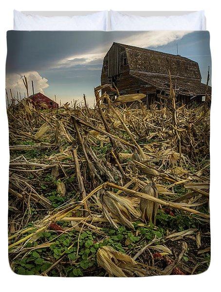 Barn Corn Duvet Cover