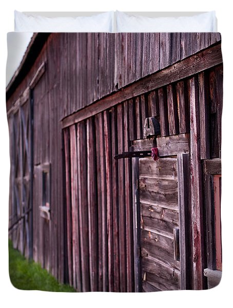 Barn Door Small Duvet Cover