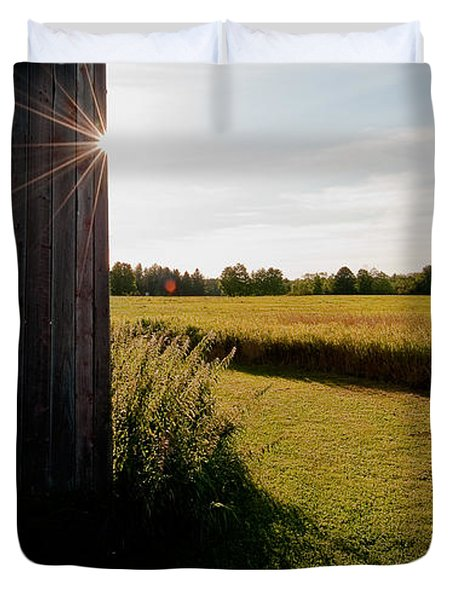 Barn Highlight Duvet Cover